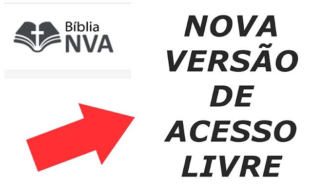 Biblia NVA - nova versao acesso livre