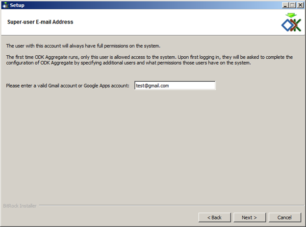 odk aggregate email configuration