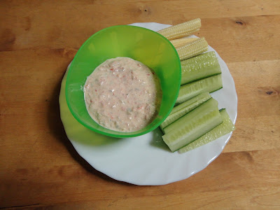 Wild Alaskan Red Salmon Dip