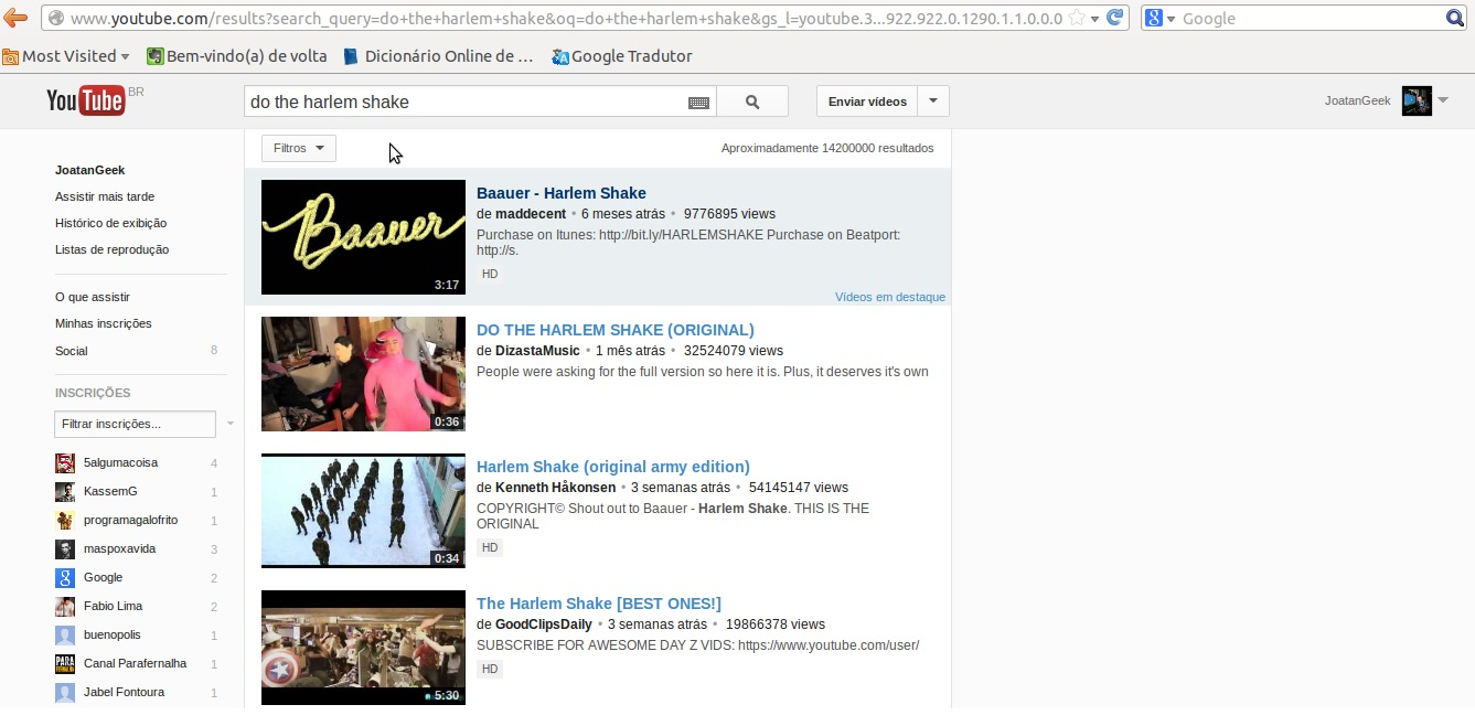 do the harlem shake youtube easter egg