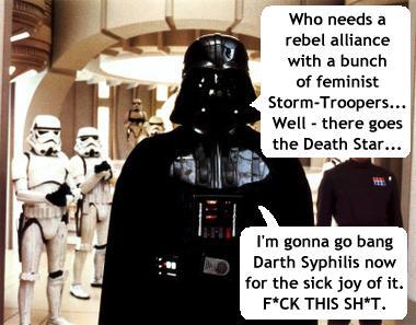 feminism Darth Vader