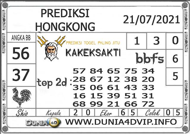 Prediksi Togel HONGKONG DUNIA4D 21 JULI 2021