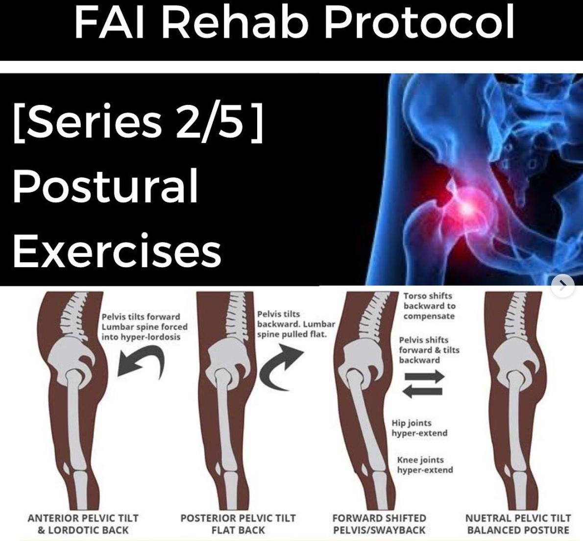 FAI Rehab Protocol Part 2 - Postural Exercises - themanualtherapist.com