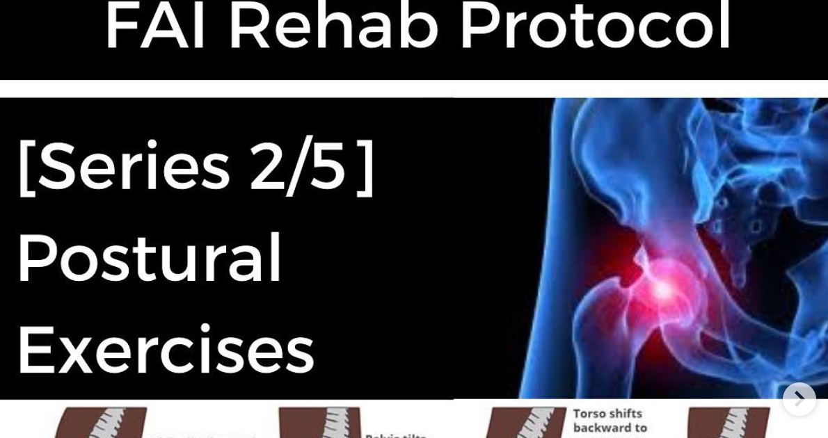 Photo of FAI Rehab Protocol Part 2 – Postural exercises | Modern Manual Therapy Blog