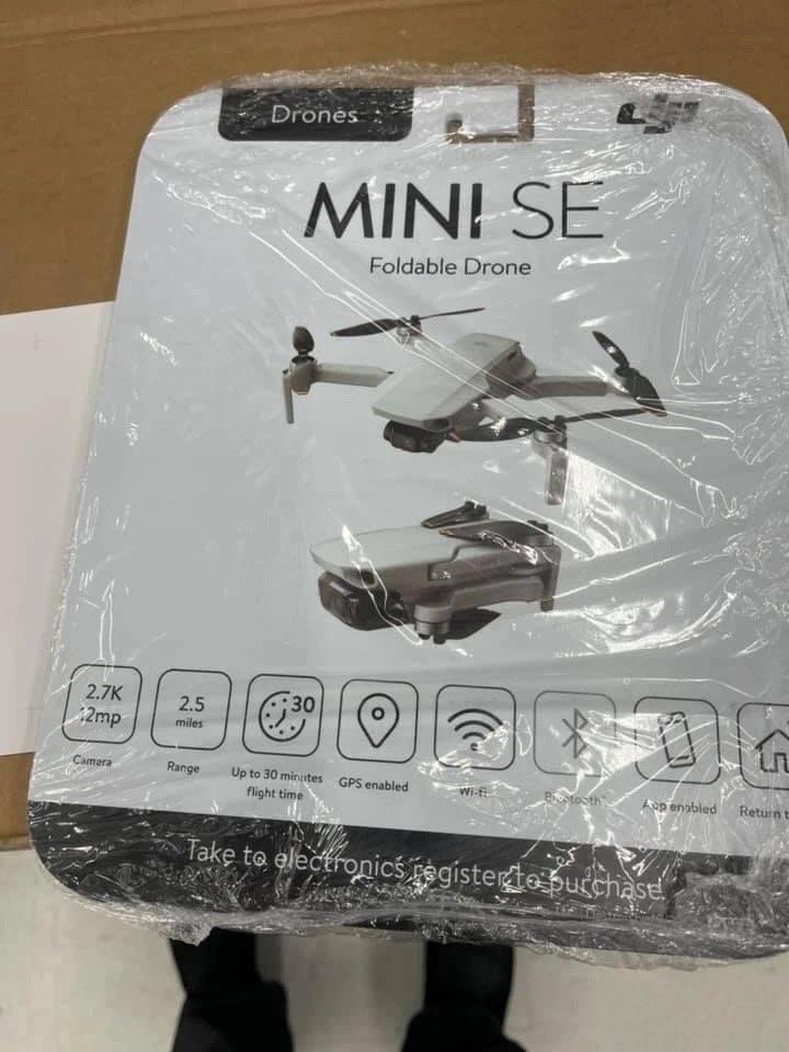 Упаковка DJI Mini SE