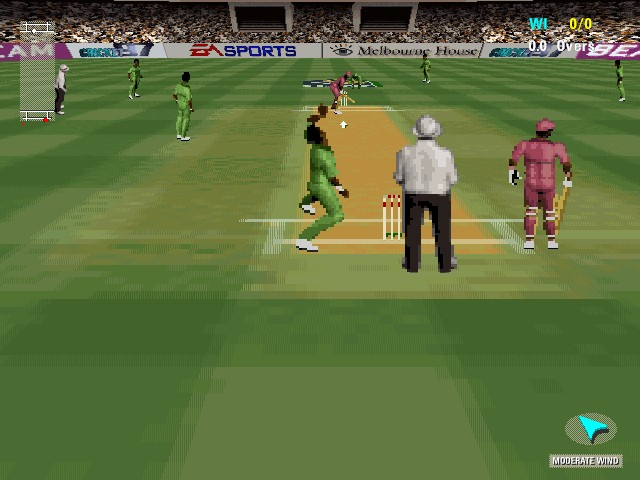 Cricket 97 download (1997 sports game).