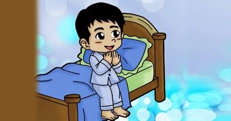 Doa Sebelum dan Sesudah Tidur