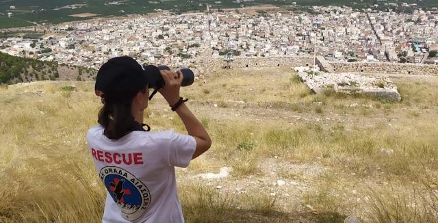 Σε επιφυλακή για πυρκαγιές και η Ελληνική Ομάδα Διάσωσης Αργολίδας