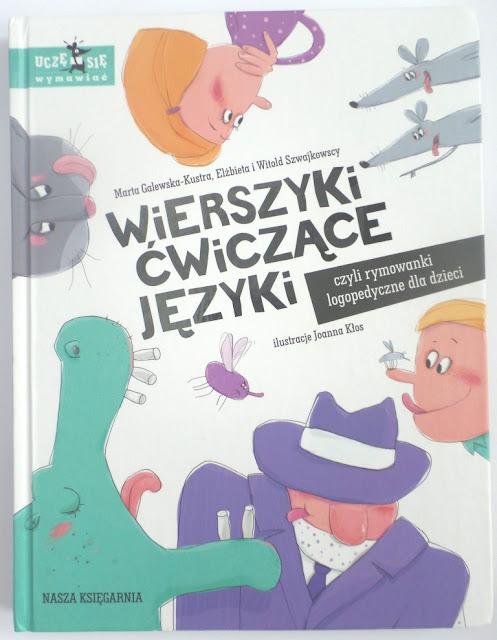 """""""Wierszyki ćwiczące języki"""", czyli rymowanki logopedyczne dla dzieci"""