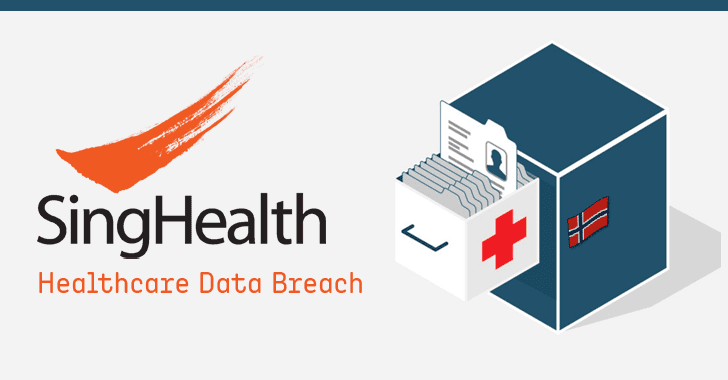 SingHealth healthcare data breach medical records hacking