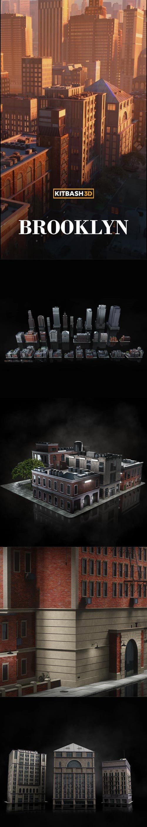 Kitbash3D Brooklyn..