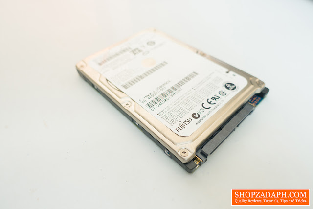 repurpose old netbook hard drive