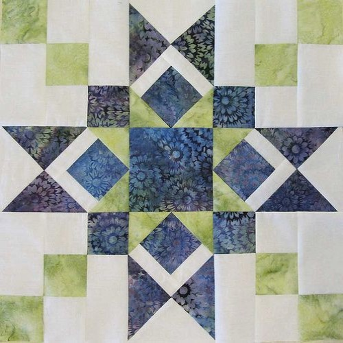 Granny's Star Block - Free Pattern