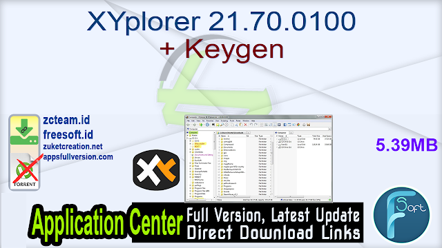 XYplorer 21.70.0100 + Keygen_ ZcTeam.id