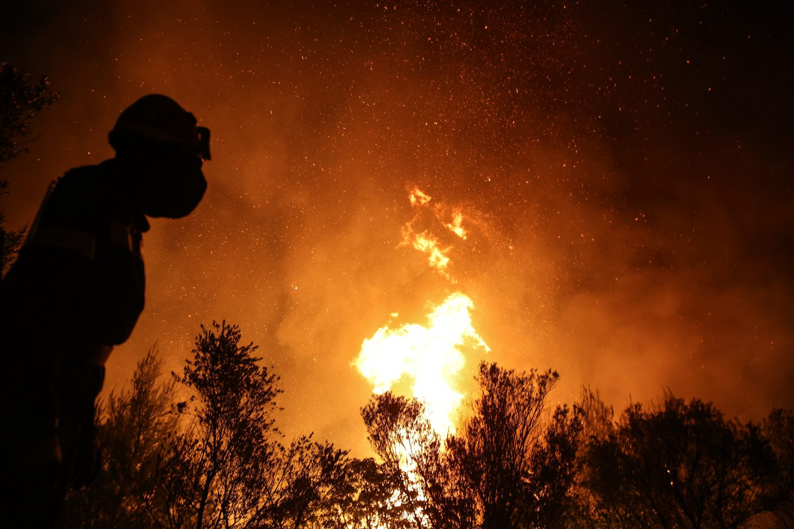 Πύρινος εφιάλτης – Στις φλόγες η μισή Ελλάδα