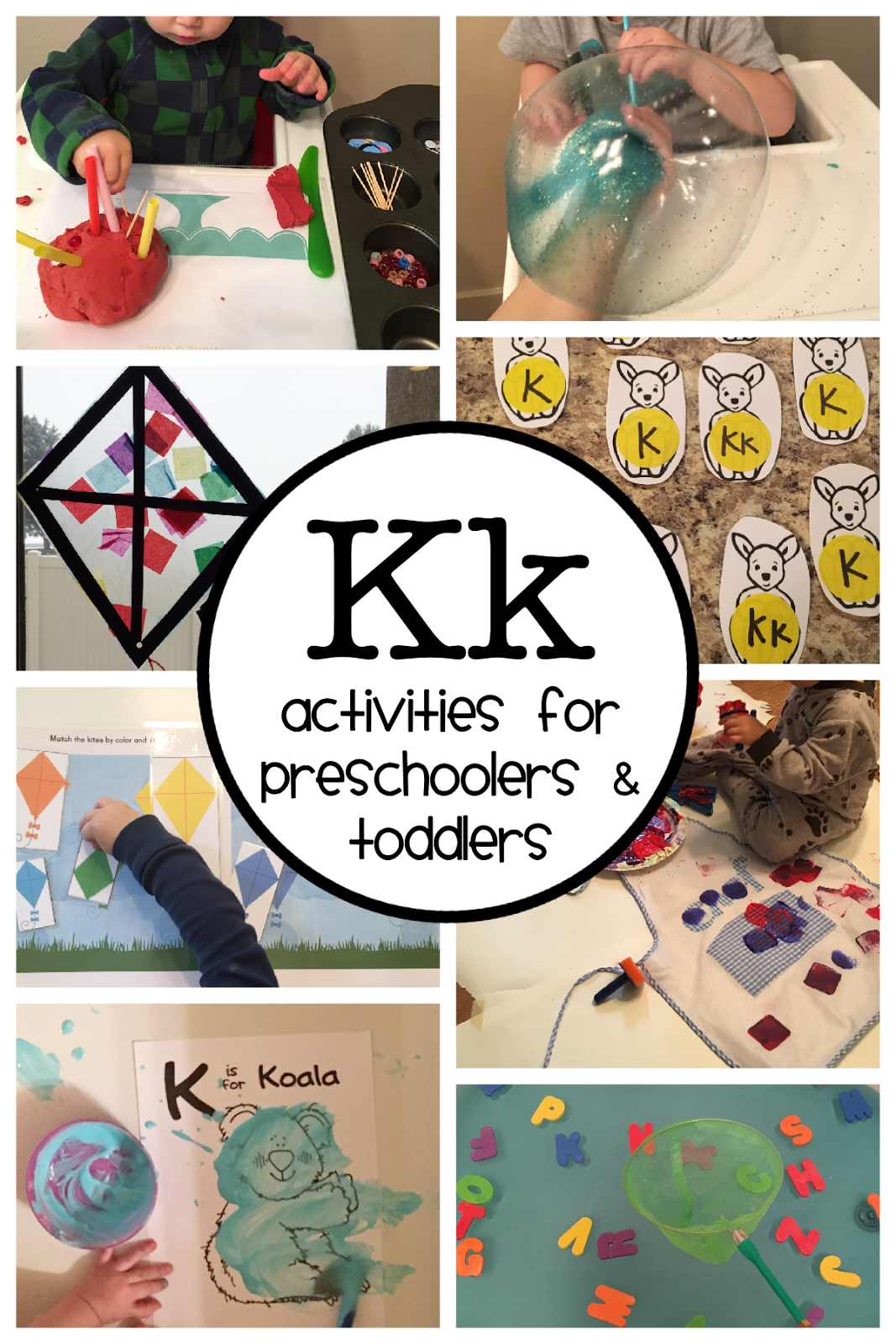 Letter K Activities Ages 3 19 Mo