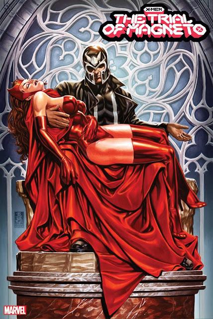 'The Trial of Magneto' de Mark Brooks.