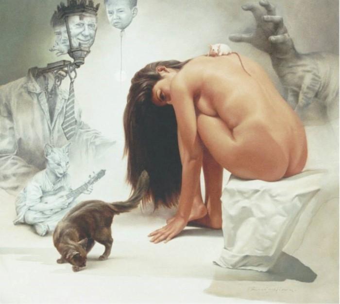 Сюрреалистический стиль гиперреализма. Johnny Palacios Hidalgo 3