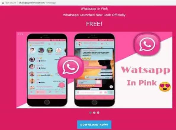 Beware Of Whatsapp Pink