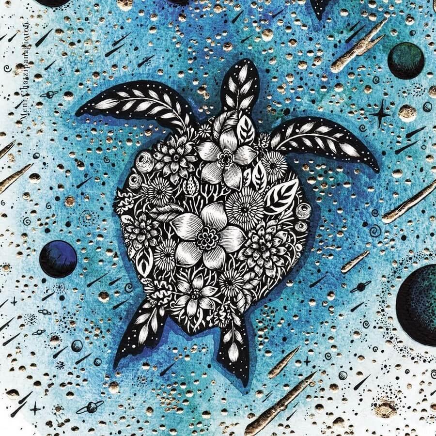 07-The sea turtle-Melpomeni-Chatzipanagiotou-www-designstack-co