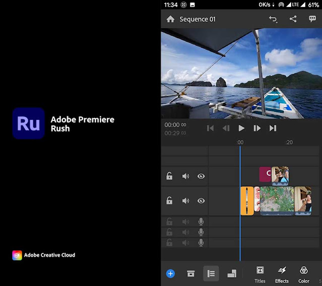 Aplikasi Edit Video Untuk Youtuber di HP: Premiere Rush