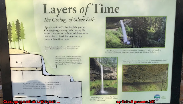 Geology of Silver Falls Oregon