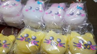 キャラクター綿菓子