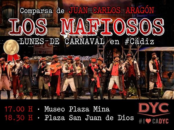 Los Mafiosos hoy por las calles de Cádiz