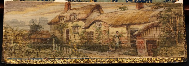 Painting of Anne Hathaway's Cottage