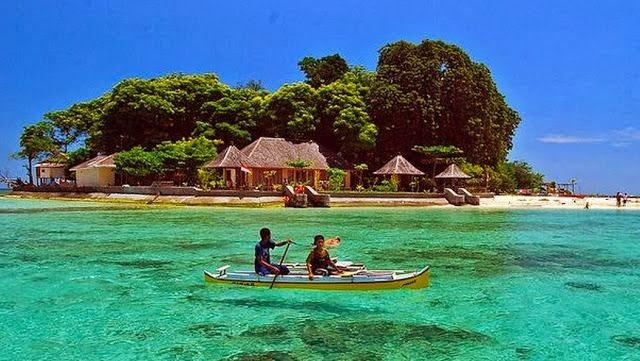 Kecantikan di Pulau Samalona
