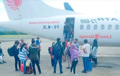 Bersiap Untuk Berangkat,  Penumpang Wings Air IW1530Y Tujuan Dobo diminta turun dari Pesawat