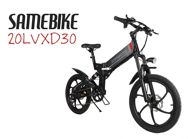Bicicleta electrica SAMEBIKE 20LVXD30