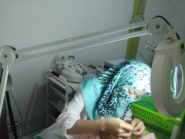 perawatan facial emas di alea