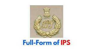 Full-Form of IPS