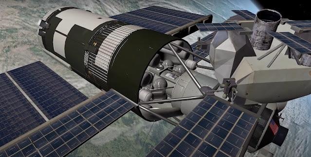 sci fi spaceship concept art