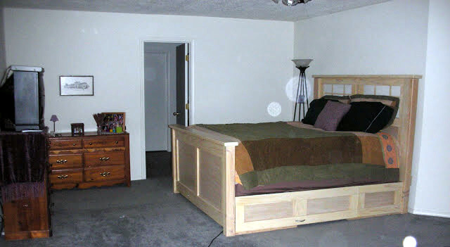 Bedroom Remodel - Before