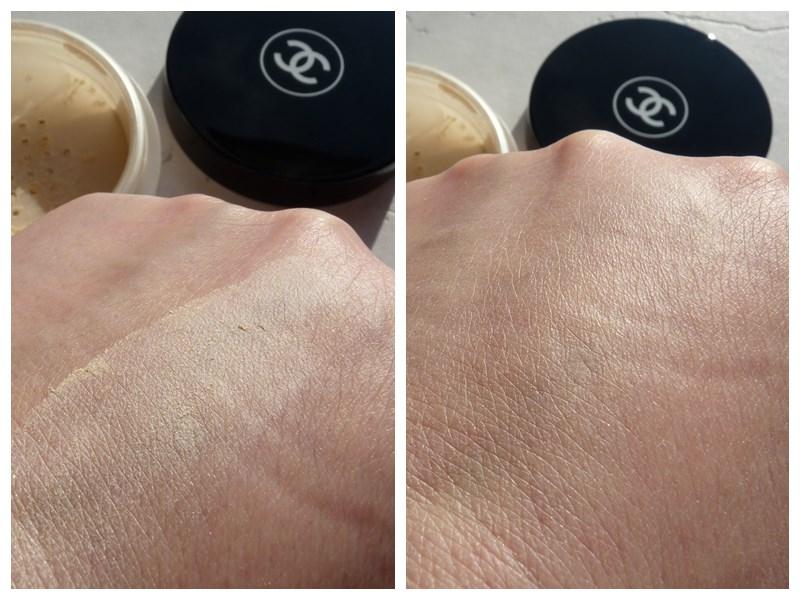 Chanel Poudre Universelle Libre 30 Naturel - Translucent 2 swatch swatches