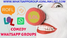 Comedy WhatsApp Group Join Link List