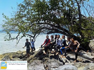 wisata pulau dan pantai kelagian lunik