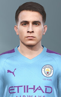 PES 2019 Faces Eric Garcia by Champions1989