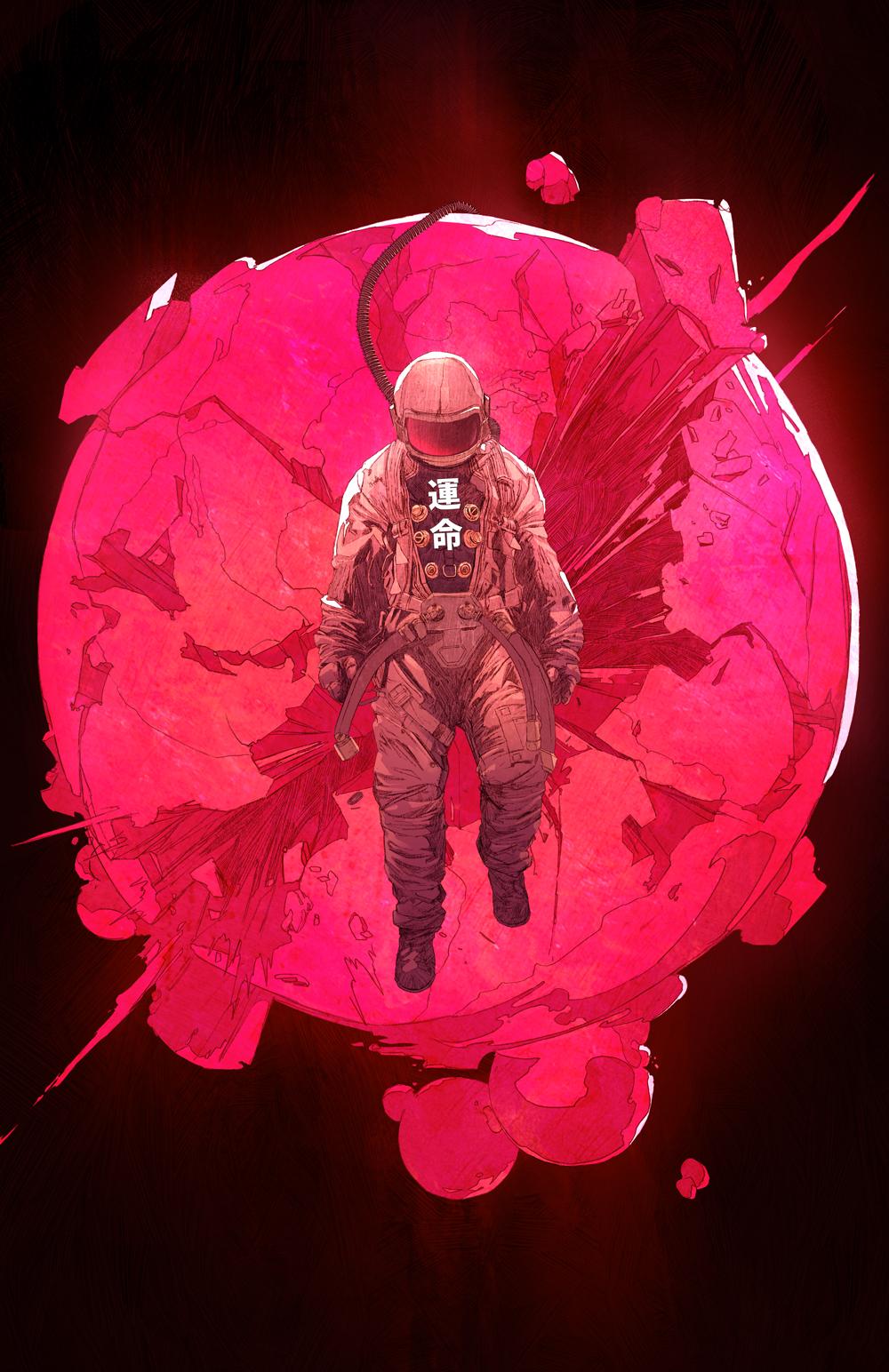 Astronaut aesthetic