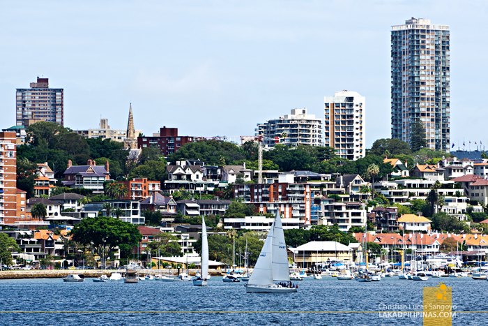 Sydney Harbour Cruise Point Piper