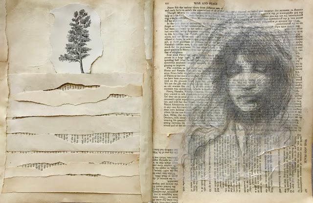 April Art Journal Pages
