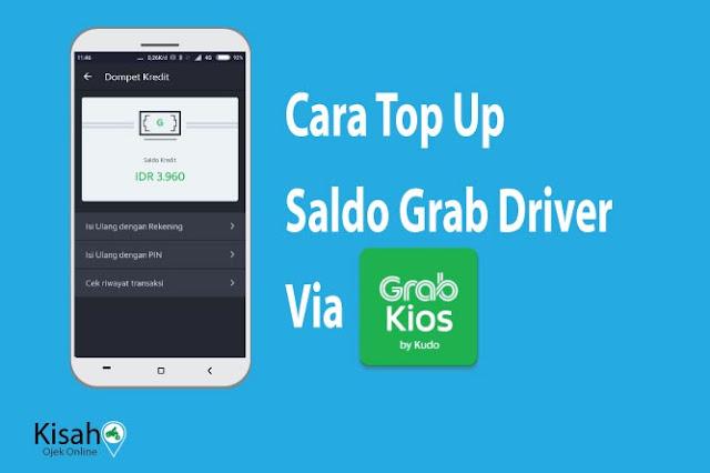 Cara Top Up Saldo Grab Driver Melalui GrabKios