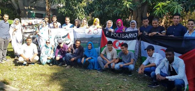 اختتام فعاليات الندوة الثالثة لرابطة الطلبة الصحراويين بكوبا