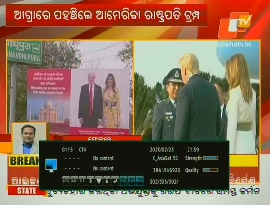 OTV / Odia TV News channel added on GSAT 30
