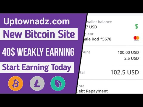 100$ Everymonth Easily, Make Money Online,New Bitcoin Earning website,Earn Money,High Paying