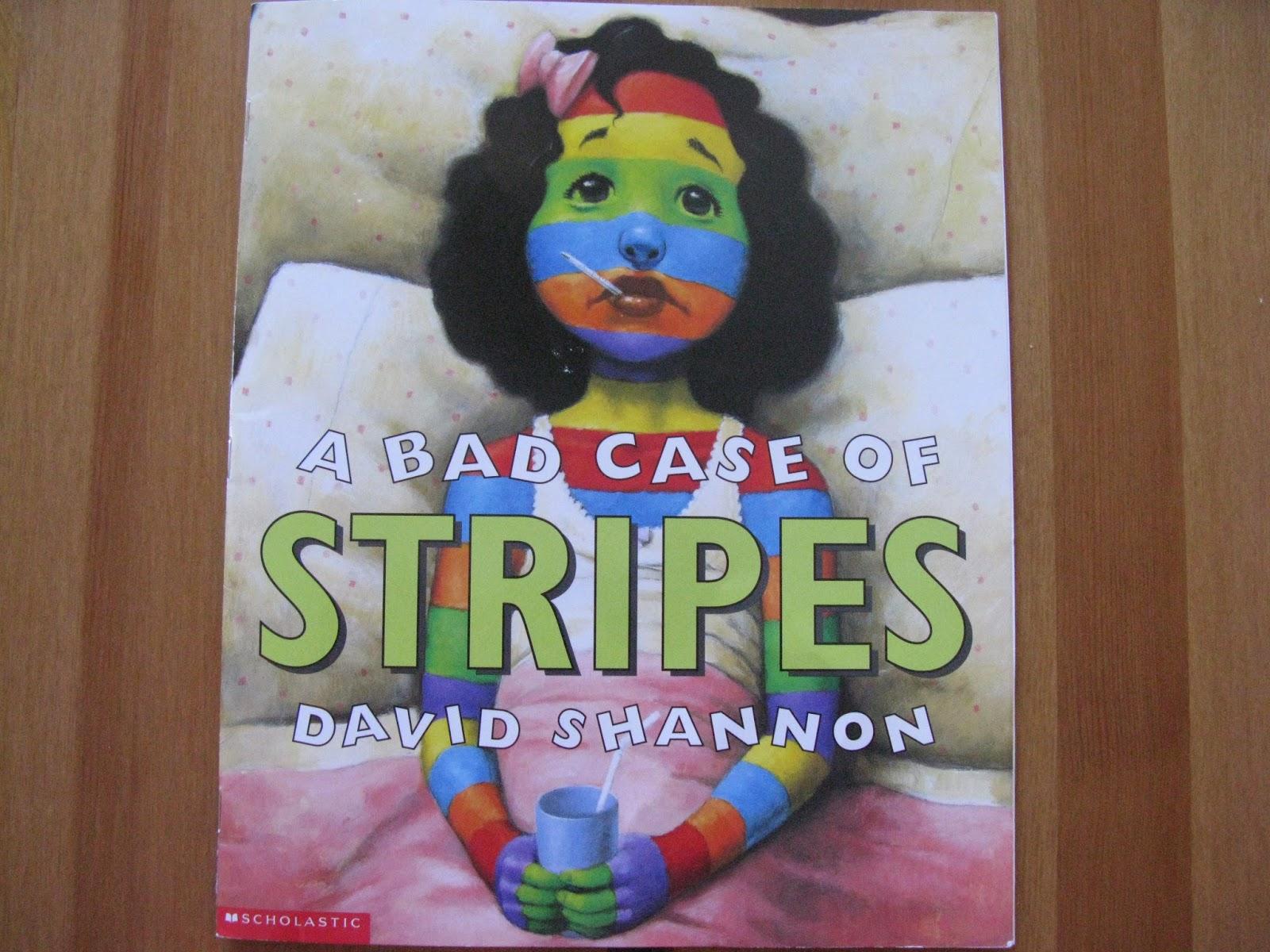 Pegostes Y Colores Libro A Bad Case Of Stripes