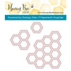 Honey Bee HEXAGON BUNCHES Die