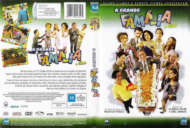 Capa DVD A Grande Família O Filme